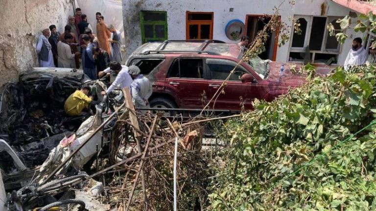 """EEUU admite su """"trágico error"""" en ataque que mató a 10 civiles, la mayoría  niños, en Kabul"""