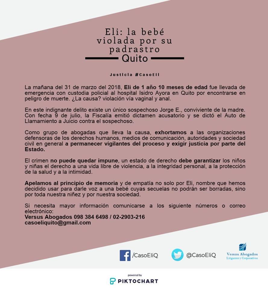 Nuevo caso de violación se conoce en Quito | Vistazo