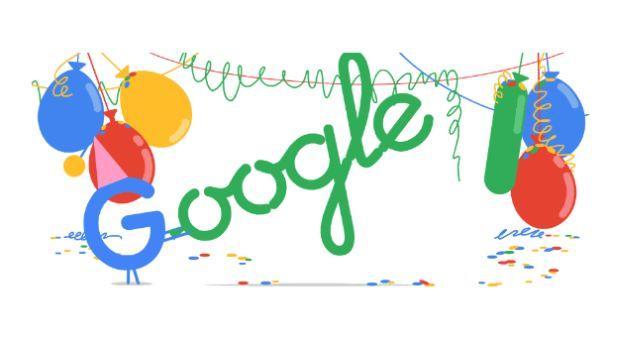 Google celebra la mayoría de edad dedicándose un doodle