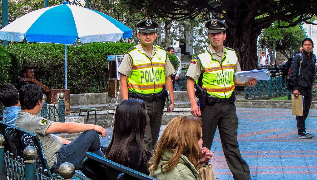 Se desplegaron los operativos de seguridad por el feriado for Ministerio del interior policia nacional del ecuador