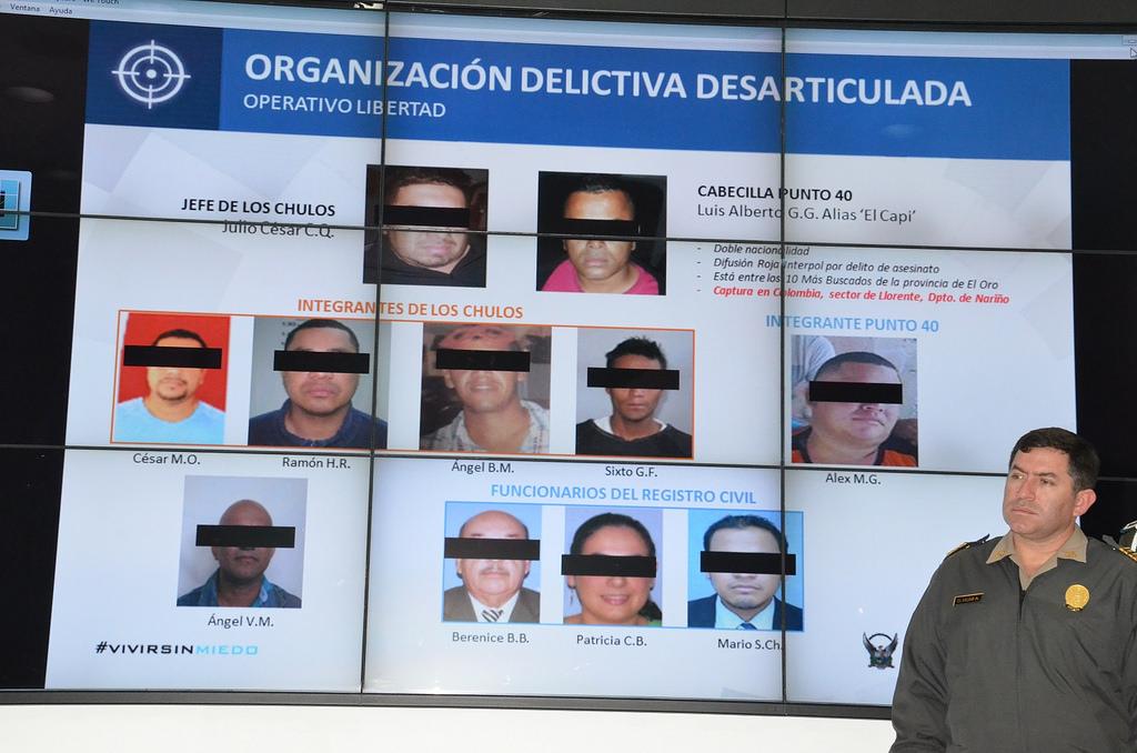 Desbaratan red internacional de trata de personas que for Ministerio del interior ecuador