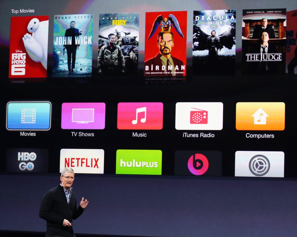 El servicio de TV en línea funcionaría en todos los dispositivos que emplean el sistema operativo iOS, incluyendo los iPhone y los iPad. Foto: REUTERS