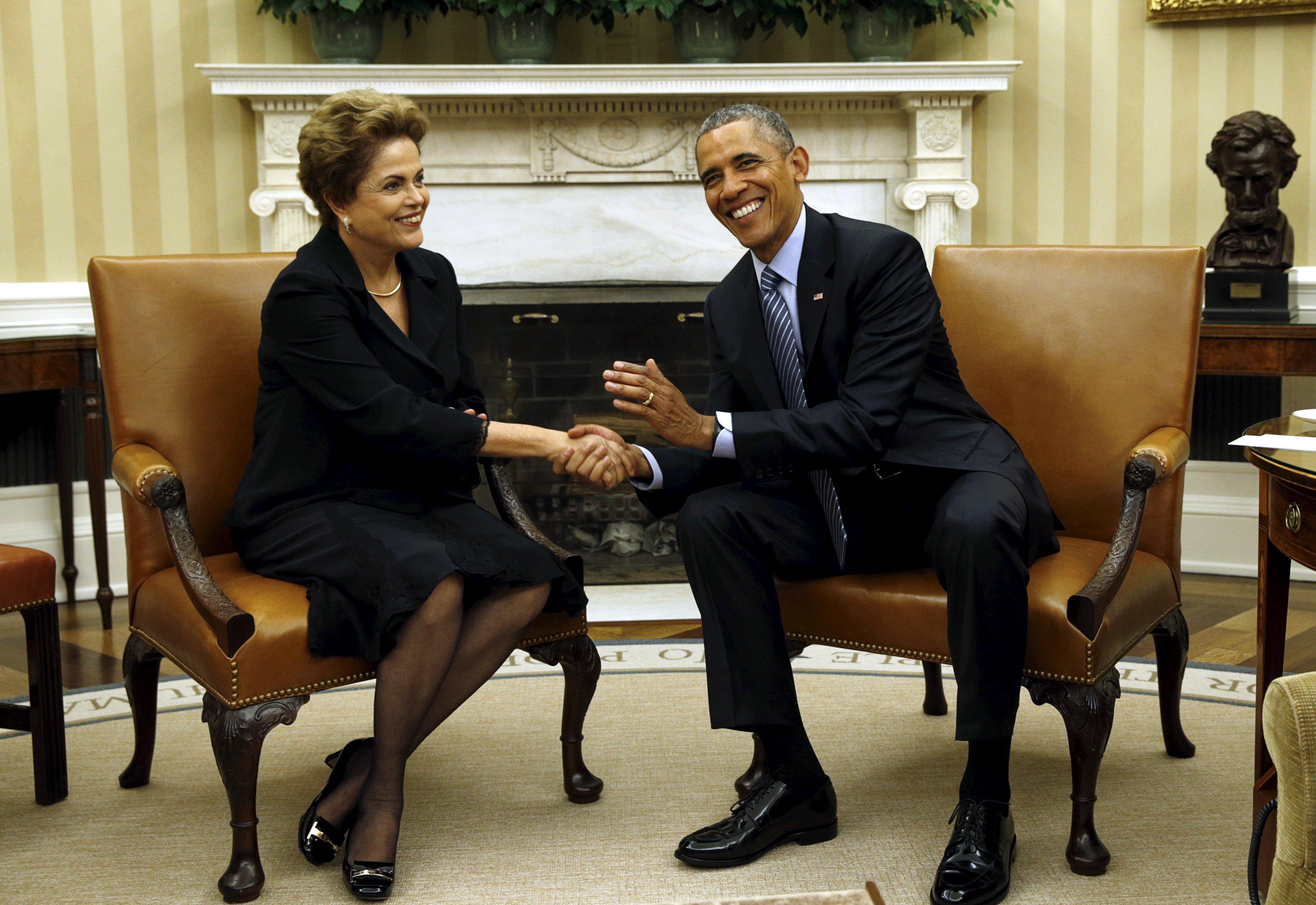 La divulgación de la lista se produce solo días después de que Rousseff y  Barack Obama