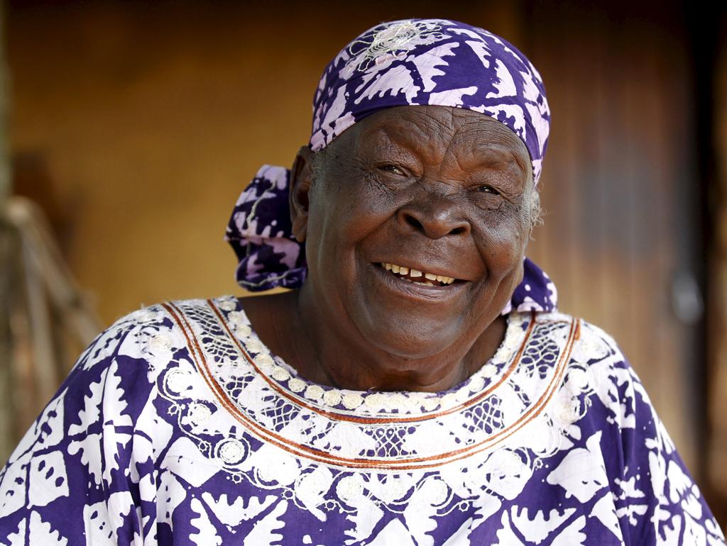 Mama Sarah, abuela de Barack Obama. Foto: REUTERS