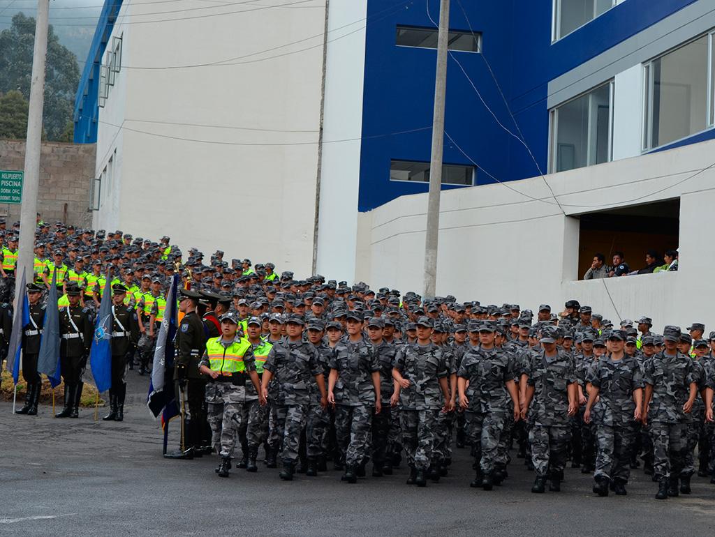 Designan al nuevo comandante de la polic a nacional vistazo for Ministerio del interior policia nacional del ecuador