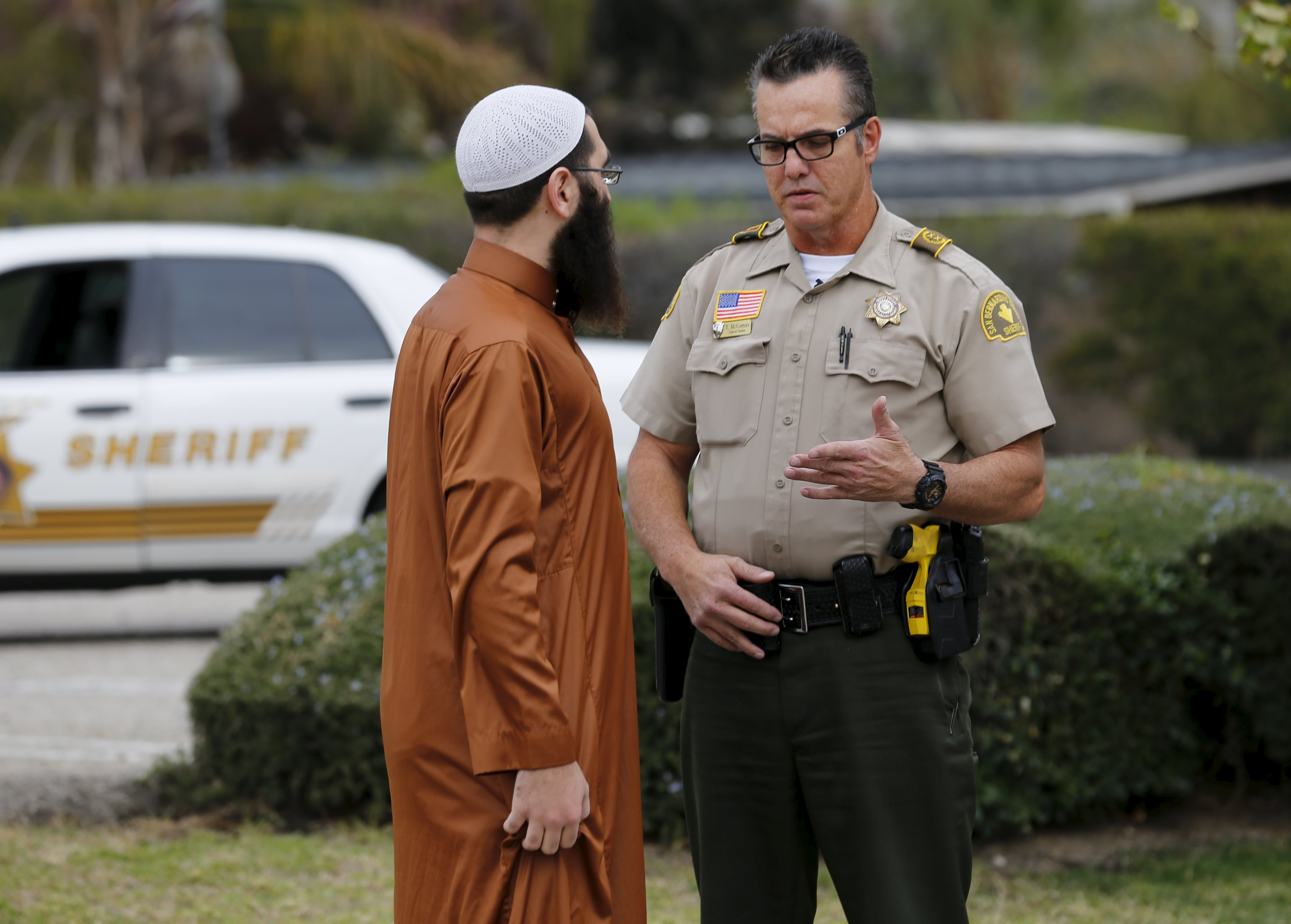 california muslim California's muslim community expressed its horror at the mass shooting that killed at least 14 in san bernardino, after a local muslim man was widely identified as a suspect.