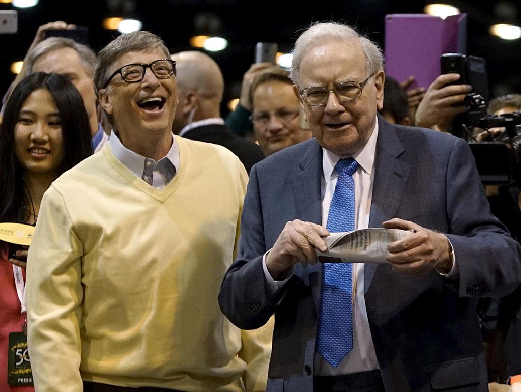 Bill Gates y Warren Buffett. Foto: Reuters