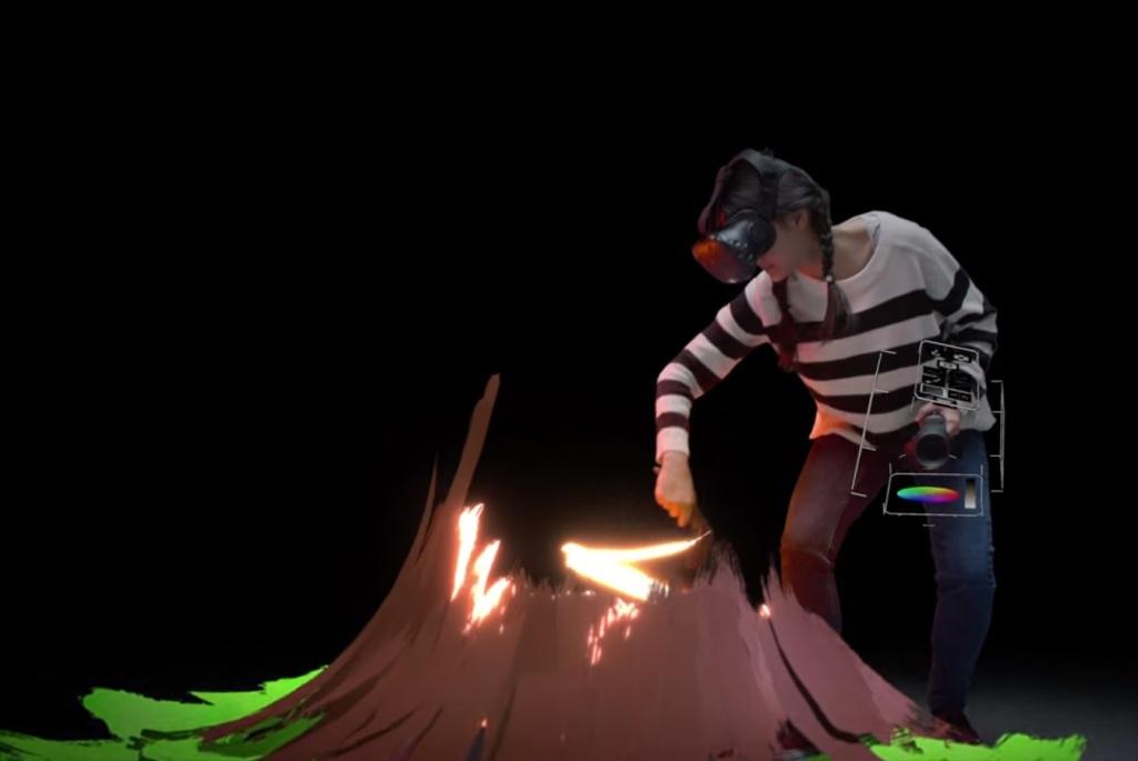 Nuevo video del Tilt Brush de Google muestra el futuro del arte