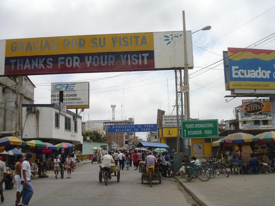 wiki frontera entre ecuador peru