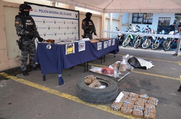 Se ha incautado 30 toneladas de droga en lo que del a o for Comunicado ministerio del interior