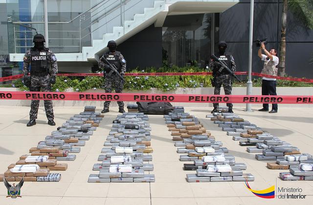 Ecuador decomisa 53 toneladas de droga en primer semestre for Ministerio del interior ecuador