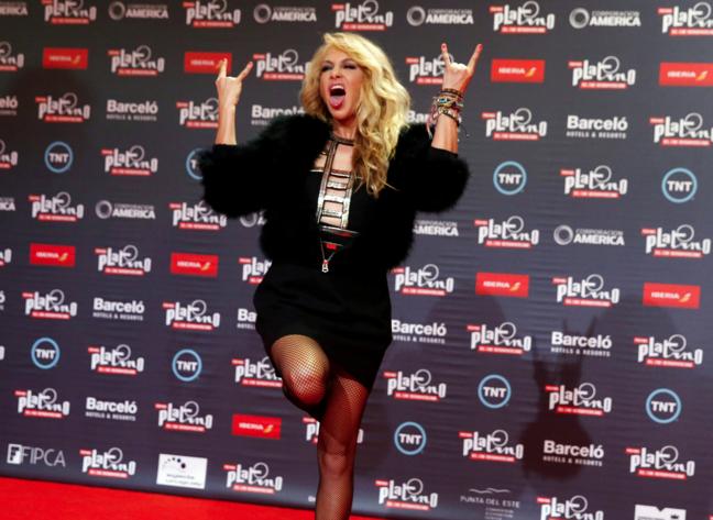 Paulina Rubio , su desastroso regreso a los escenarios