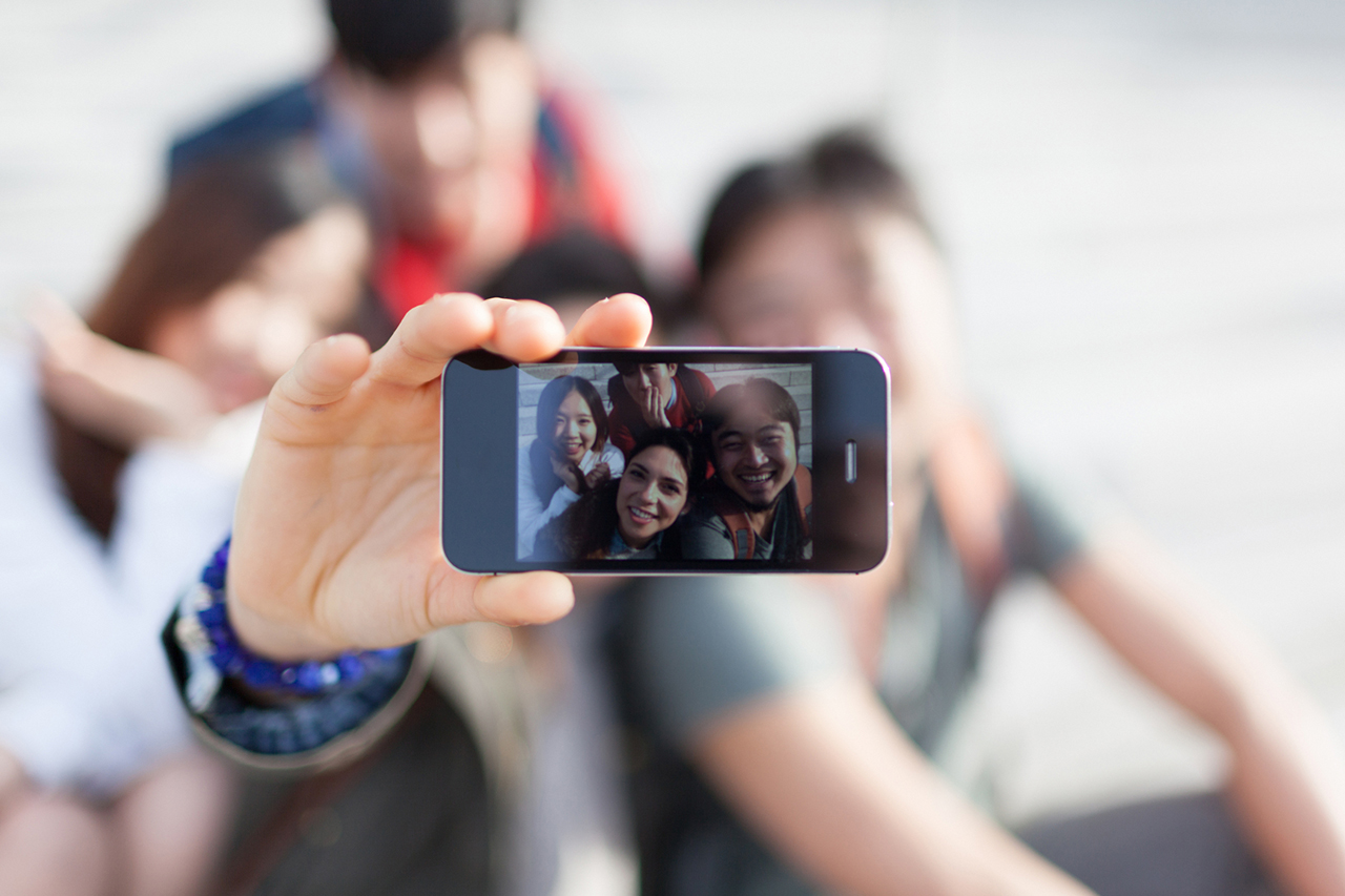 Esta es la nueva tendencia de selfies (FOTOS) — High-five Selfie