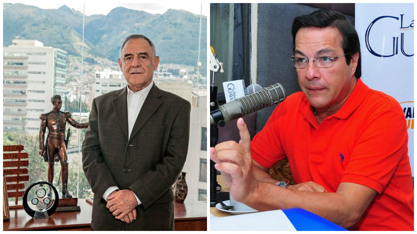 Paco Moncayo confirma a Mario Canessa como opción de su binomio — ECUADOR