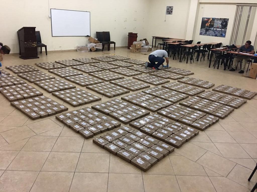 Incautan nuevo cargamento de droga en puerto de guayaquil for Ministerio del interior en guayaquil
