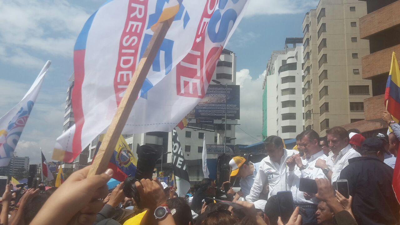 Guillermo Lasso asegura que irá a segunda vuelta en Ecuador