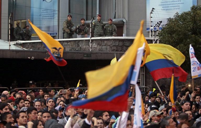 Buscan blindar la segunda vuelta electoral en Ecuador para evitar fraude