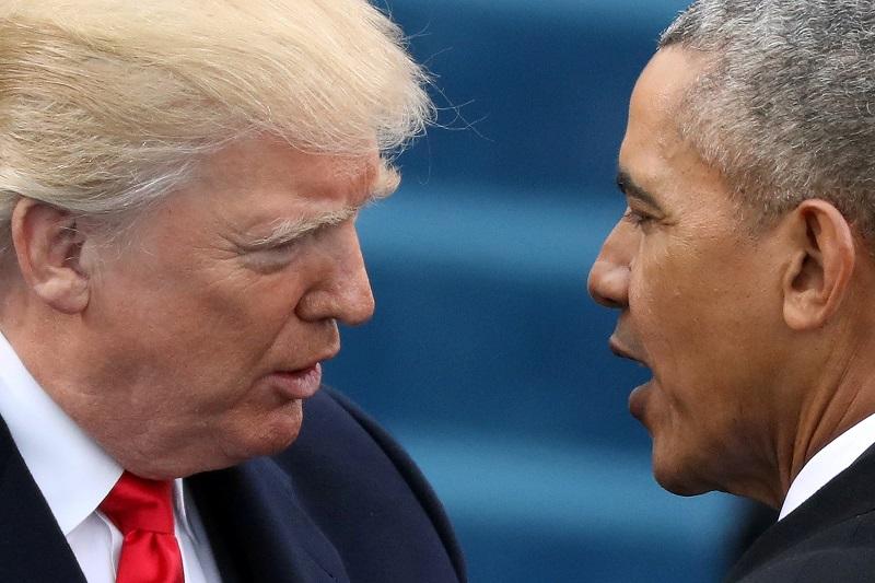 La volátil relación de Trump y Obama alcanza una década | Vistazo