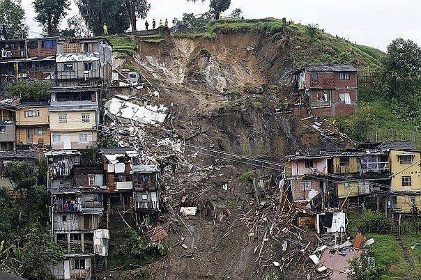 Aumenta a 9 cifra de desaparecidos tras deslaves; 16 muertos — Colombia