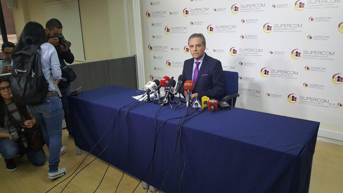 Superintendencia sanciona a siete medios por censura previa en Ecuador