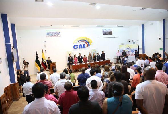 El presidente electo de Ecuador recibirá las credenciales el 16 de mayo