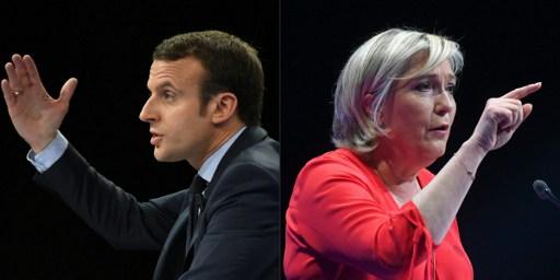 Denuncia Macron en último día de campaña