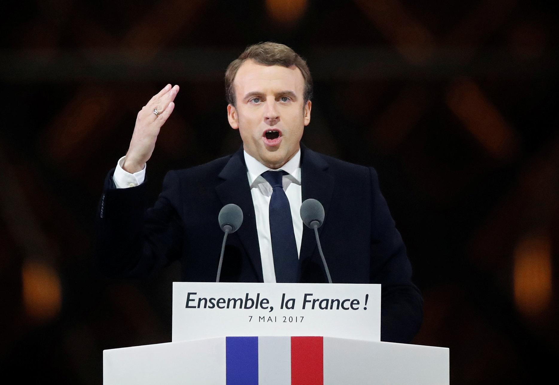 Dato final: Macron vence con 66.1 por ciento a Le Pen