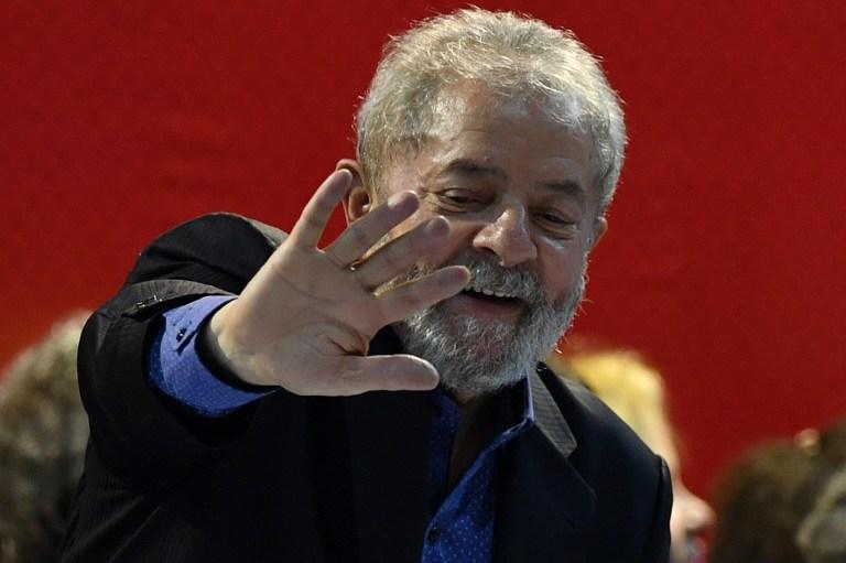 "Termina declaración de ex presidente brasileño Lula después de cinco horas"""