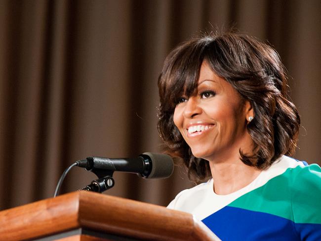 Michelle Obama critica los cambios de Trump en su programa de nutrición