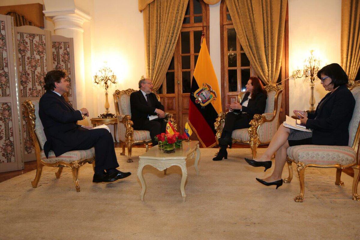 Canciller espera que Ecuador