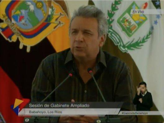 Lenín Moreno dice que hay muchos más involucrados en caso Odebrecht
