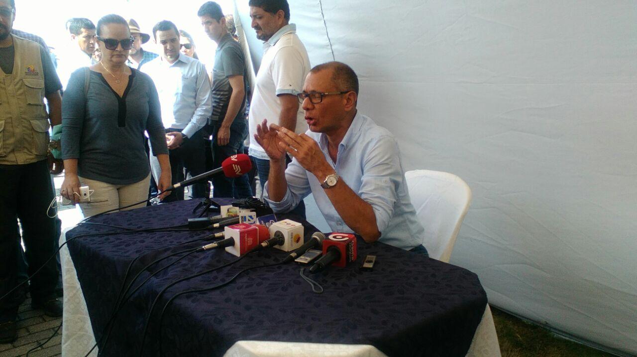 Fiscalía y Policía continúan levantando evidencia en Quito en caso Odebrecht Ecuador