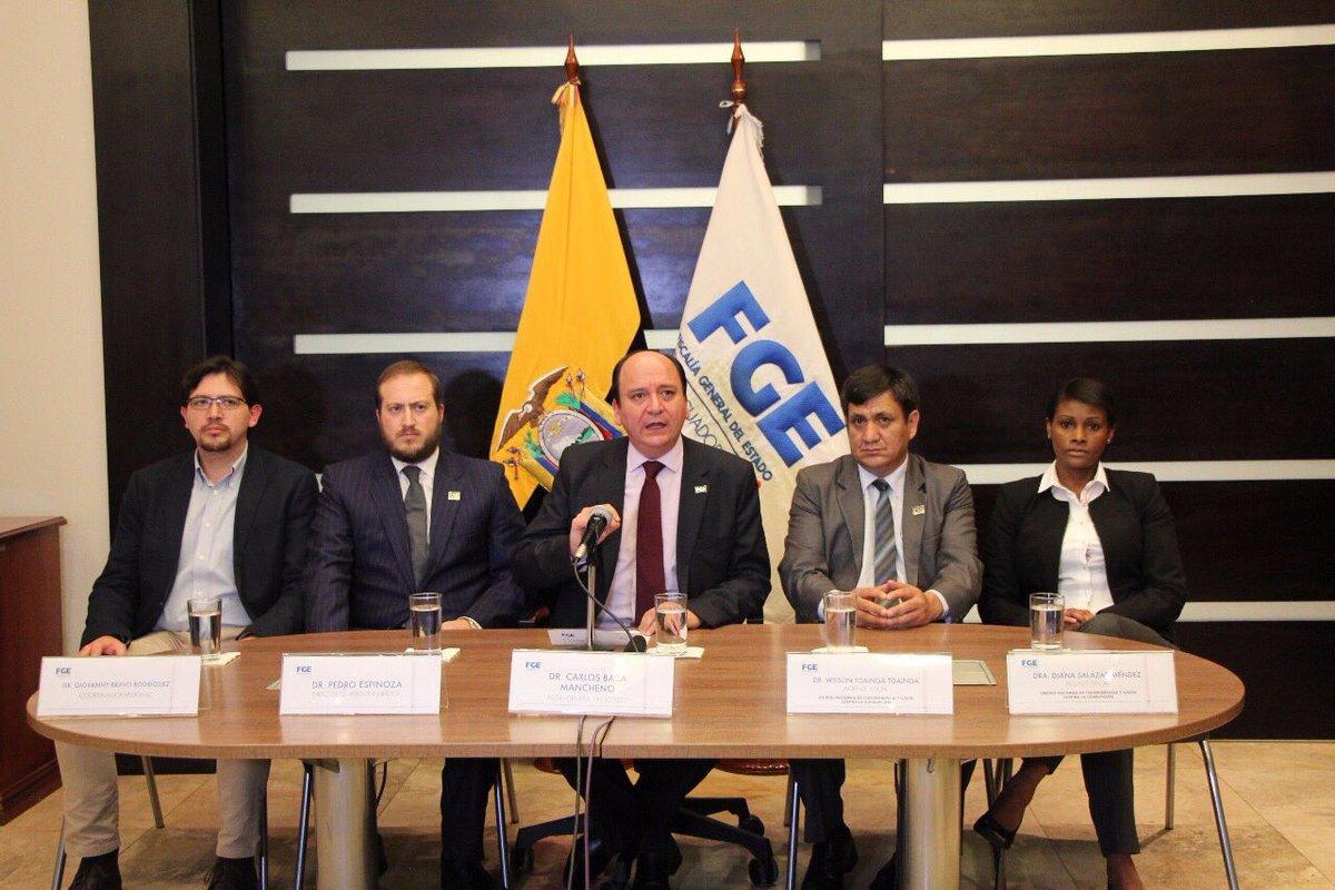 Fiscal Baca anuncia nuevos involucrados — Caso Odebrecht