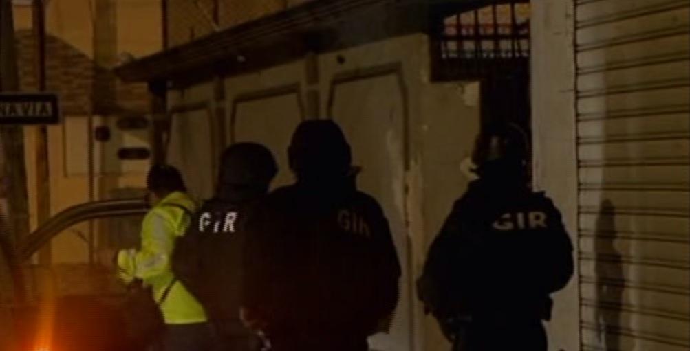 Operativo simultáneo deja detenidos en varias provincias