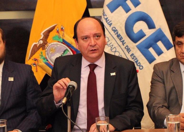 Fiscal general de Ecuador viajará el martes a Panamá por caso Odebrecht