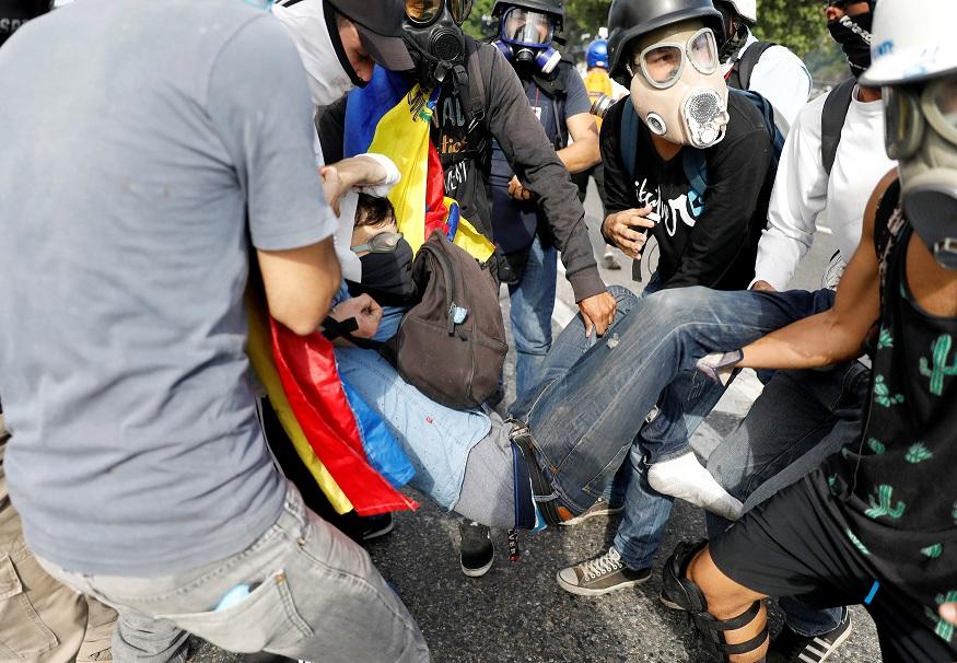 David Vallenilla es asesinado por guardias en protestas en Venezuela