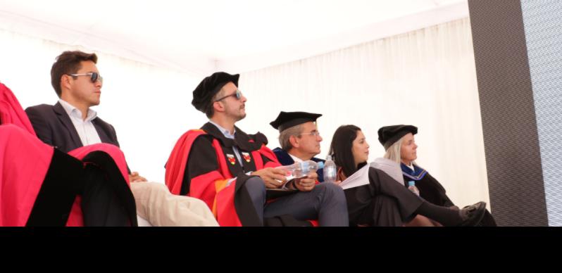 La Comisión Gestora de Yachay Tech es la máxima autoridad de la Universidad, nombrada directamente por el Presidente. A pesar de que sus miembros renunciaron constan en el portal web de la institución. Foto: Cortesía