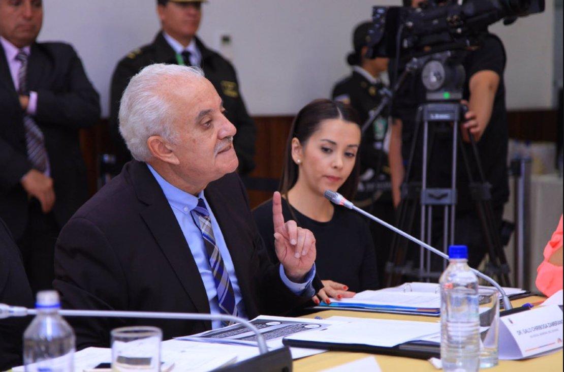 Exfiscal Galo Chiriboga comparece ante la Comisión de Fiscalización por Caso Odebrecht