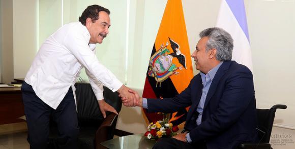 Moreno participará en las actividades por la fundación de Guayaquil