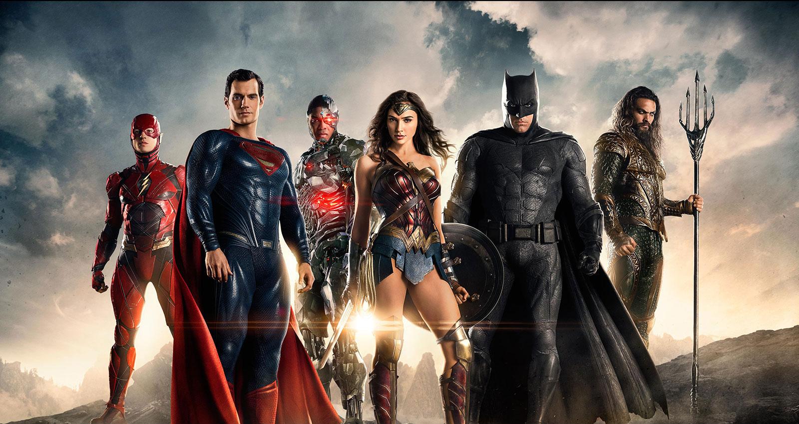 ¡Hay nuevo poster de La Liga de la Justicia!