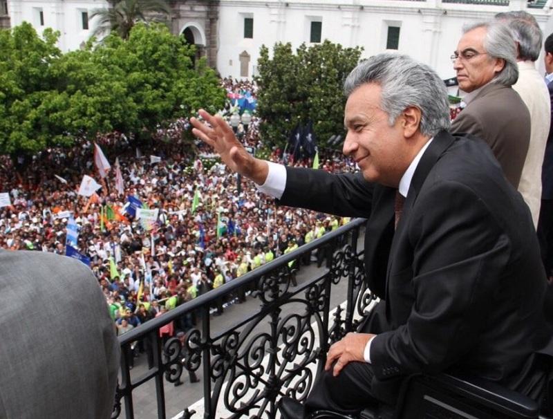Presidente Lenín Moreno advierte que no se amedrentará por lucha anticorrupción