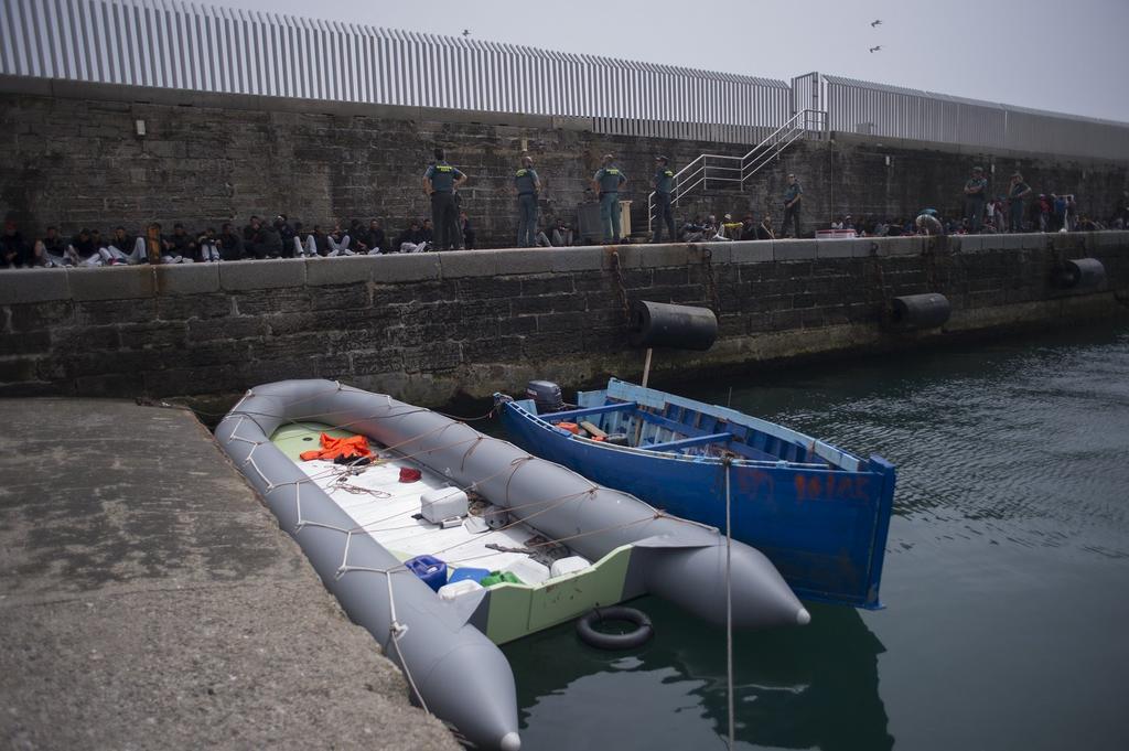Rescataron a 339 inmigrantes en las costas de Cádiz