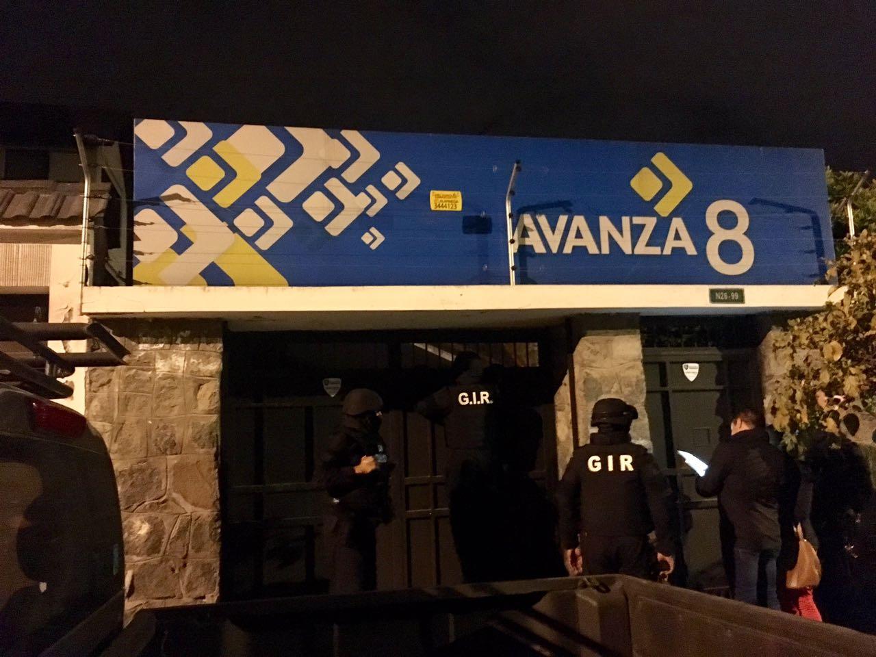 Fiscalía allana domicilio de Ramiro González y oficinas de movimiento Avanza