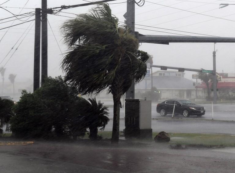 Varios condados ya habían recibido en la mañana del sábado cerca de 23 cm de lluvia en 24 horas