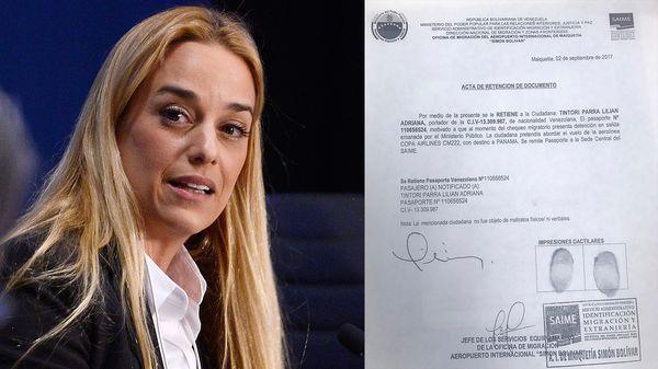 Alemania pidió que Venezuela levante prohibición contra Lilian Tintori