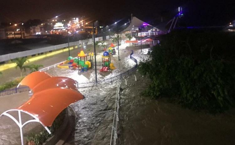 Declaran emergencia en Tena por desbordamiento de ríos