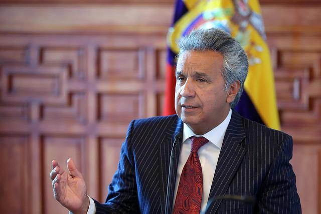 Lenín Moreno descarta