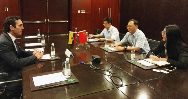 Ecuador no descarta un acuerdo comercial con china vistazo for Ministerio relaciones exteriores ecuador