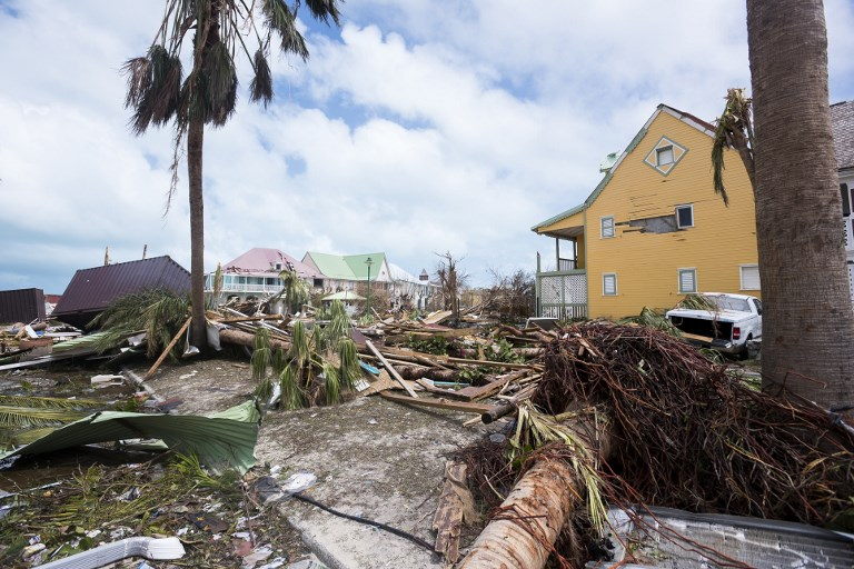 La devastación que dejó Irma tras su paso por el mar Caribe