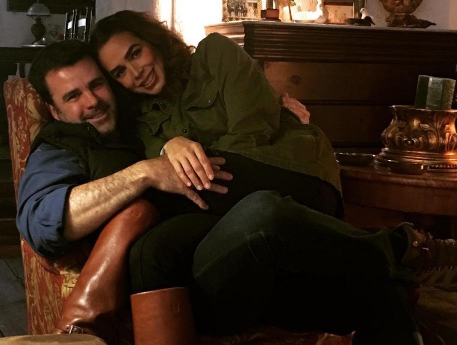 Recuperada de paperas, Biby Gaytán se va de fiesta con Eduardo Capetillo